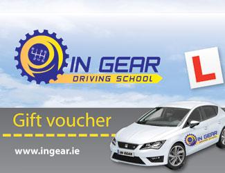 gift voucher driving school dublin